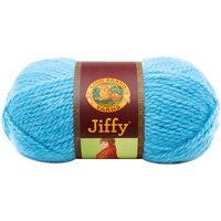 Lion Brand Jiffy Yarn Purple Spray
