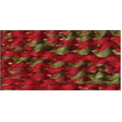 Lion Brand Wreath -Yarn Homespun Holida