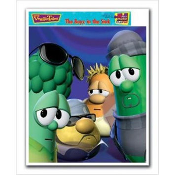VeggieTales the Boyz in the Sink Inlaid Puzzle by Talicor