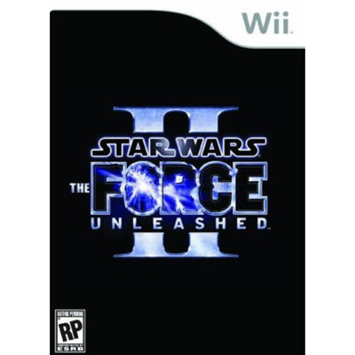 Lucasarts Entertainment Company Star Wars Force Unleashed 2 Wii Game LUCASARTS