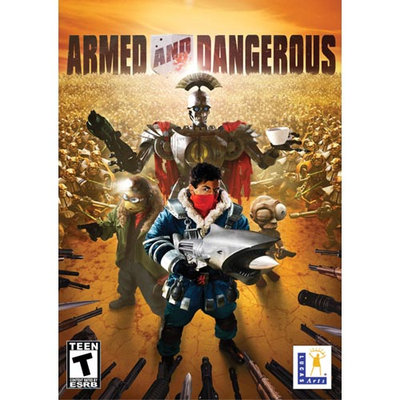 Lucasarts Entertainment Company Lucasarts Armed and Dangerous 3D Shooter Rated Teen PC Game
