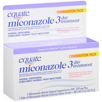 Equate Miconazole 3 Day Treatment