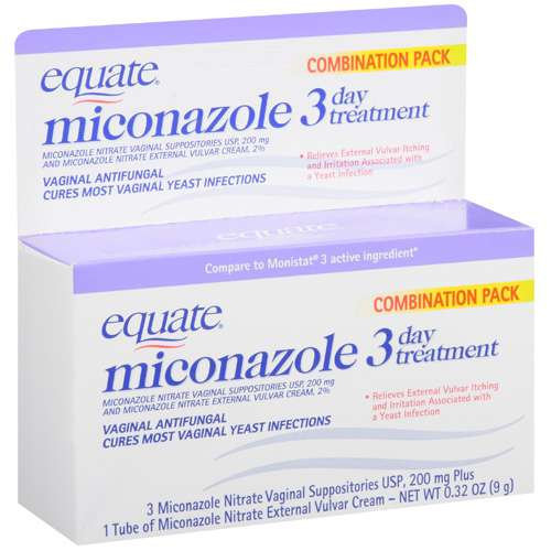 Equate Miconazole 3 Day Treatment Reviews