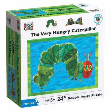 University Games Hungry Caterpillar Double Image Puzzle: 24 Pcs