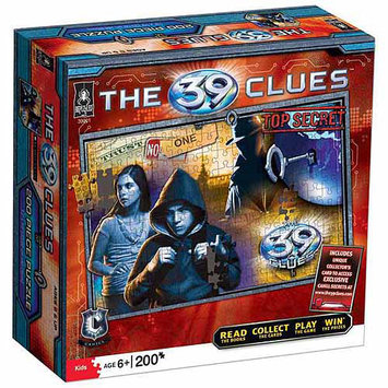 University Games: The 39 Clues 200 pcs. Puzzle