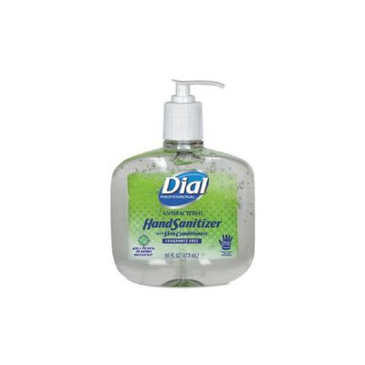 Renuzit 00213 Antibacterial Hand Sanitizer with Moisturizers 16 oz Pump Fragrance-Free