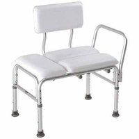 Apex-carex Healthcare Deluxe Vinyl Padded Transfer Bench with Full Seat