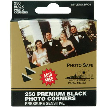 Pioneer BPC1 Premium Photo Corners Self Adhesive 250/Pkg