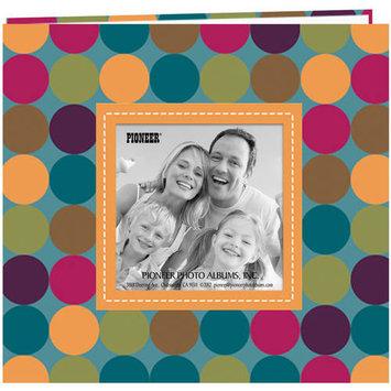 Pioneer Photo Albums Pioneer 8 x 8 Inch Brown Designer Raised Frame Scrapbook with Bonus Refill Pages