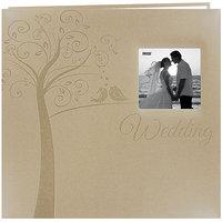 Pioneer MB10EWT Embossed Wedding Post Bound Album 12 in. X12 in. -Tree