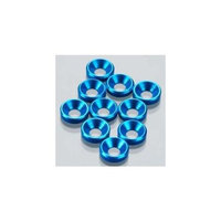 Countersink Washer 4mm Blue 10P (10) OFN10979 OFNC0979 OFNA Racing