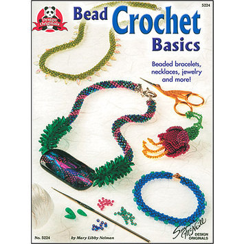 Design Originals DO-5224 Bead Crochet Basics