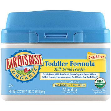 Hain Celestial Earth's Best Toddler Formula Milk Drink 23.2 oz.