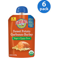 Hain Celestial Earth's Best Vegetable & Protein Puree Sweet Potato Garbanzo Barley