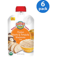 Hain Celestial Earth's Best World Foods Chicken Risotto & Portabello Mushrooms Pouch - 3.5 Ounce