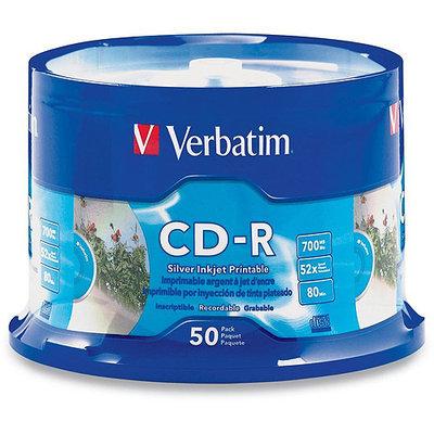 Verbatim 52x CD-R Media - Printable - 50 Pack
