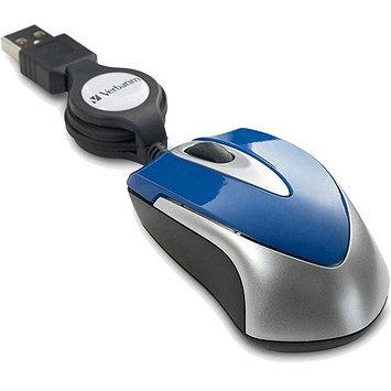 VERBATIM 97254 OPTICAL MINI TRAVEL MOUSE - GREEN