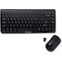 Verbatim 97472 Mini Wireless Slim Keyboard and Mouse