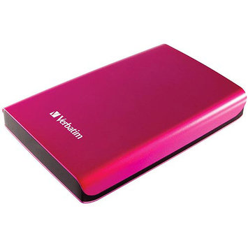 Verbatim Store 'n' Go 97656 500GB External Hard Drive - Pink