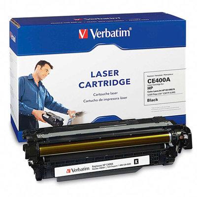 Verbatim Toner Cartridge - Remanufactured for HP (CE400A) - Black