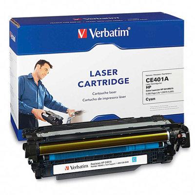 Verbatim Toner Cartridge - Remanufactured for HP (CE401A) - Cyan