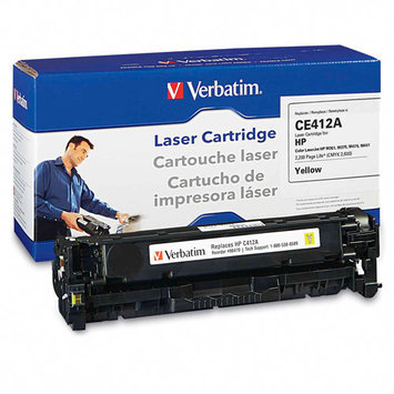 Verbatim Toner Cartridge - Remanufactured for HP (CE412A) - Yellow