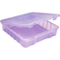 Creative Options Project Box 14 X14 X3 -Purple Transparent