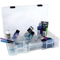 Creative Options Pro Latch Utility Art Box Clear
