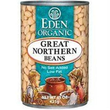 EDEN FOODS Organic Great Northern Beans 15 OZ