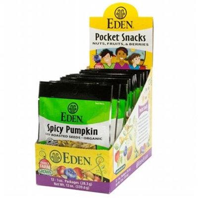 Eden Foods BPC1025054 Eden Foods Seeds Pumpkin Spicy - 12x1 OZ