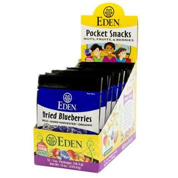 Eden Foods BPC1025048 Eden Foods Blueberries Wild Dried - 12x1 OZ