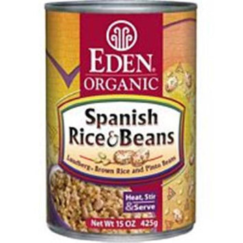 EDEN FOODS Organic Rice & Pinto Beans 15 OZ