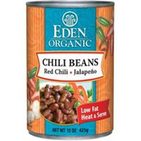 Eden Foods Organic Chili Beans Red Chili and Jalapeno - 15 oz