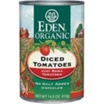 EDEN FOODS Organic Diced Tomatoes 14.5 OZ