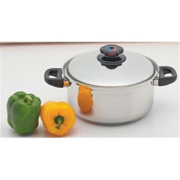 Maxam KTSPDO55 12 Element Surgical Stainless Steel Stockpot with Vented Lid
