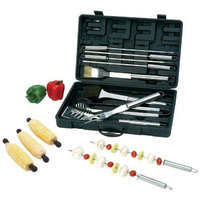 Chefmaster 20 Pc All Stainless Bbq Set