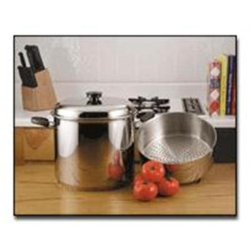 Bnf Precise Heat 24qt 9Element Waterless Stock Pot with Deep Steamer Basket