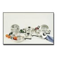 Bnf 17pc Surgical Stainless Steel Waterless Cookware