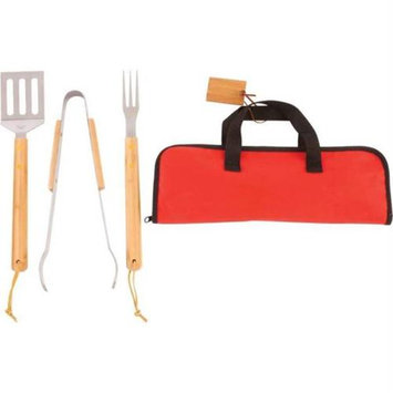 Bnf Chefmaster KTBQBB4 Chefmaster 4pc Stainless Steel Barbeque Tool Set