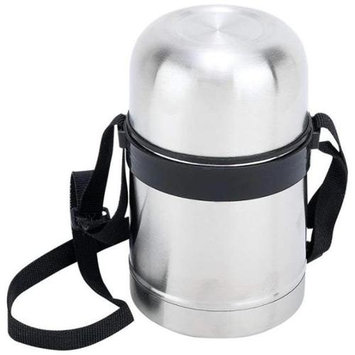 Maxam KTVCSOUP 0.5 Liter Stainless Steel Vacuum Soup Container