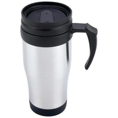 Maxam KTMUGP16 16oz Stainless Steel Travel Mug