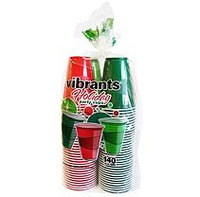 Vibrants 16 fl. oz. Holiday Party Cups - 140 ct.