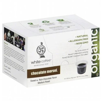White Coffee Single Serve Coffee Chocolate Morsel - 10 K-Cups