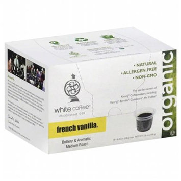 White Coffee Single Serve Coffee French Vanilla - 10 K-Cups