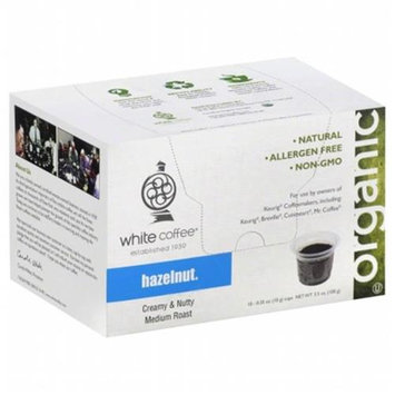 White Coffee Single Serve Coffee Hazelnut - 10 K-Cups