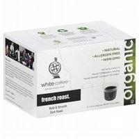 White Coffee Single Serve Coffee French Roast - 10 K-Cups