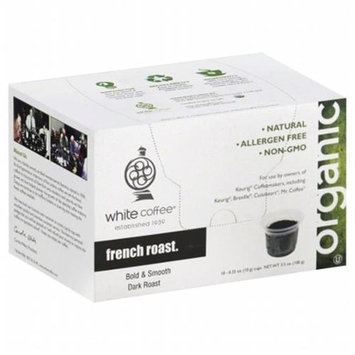 White Coffee Single Serve Coffee French Roast - 10 K-Cups