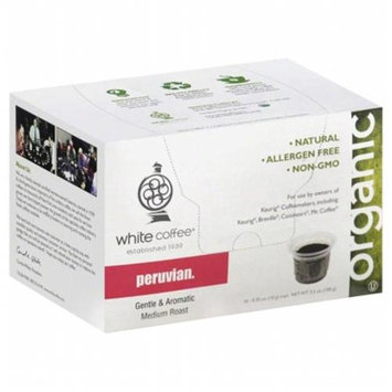 White Coffee Single Serve Coffee Peruvian - 10 K-Cups
