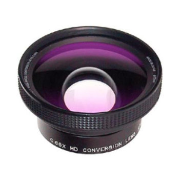 Raynox Srw-6600-58 58mm 0.66x Wide Angle Converter Lens in Black