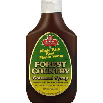 FOREST COUNTRY 1353 FOREST COUNTRY SYRUP MAPLE ALL NTRL 18 percent - Case of 12 - 16 OZ